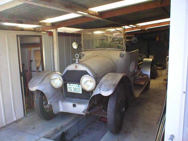 1916 Cadillac Touring Car, Lionel Mattos