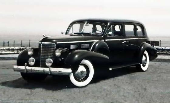 "1938 ""7523"" 7 Passenger Touring Sedan"