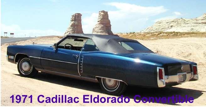 1971 Cadillac Eldorado convertible, Patti & Dave Ricci