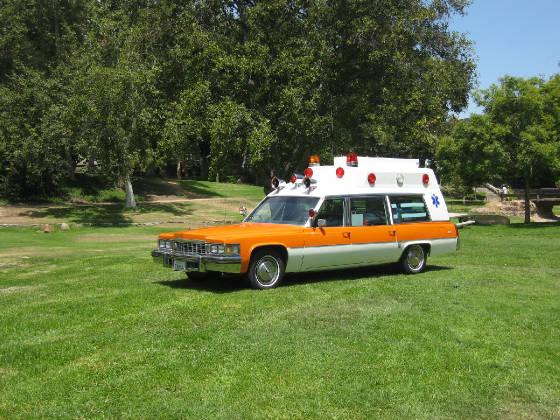 1977 Miller Meteor Cadillac Lifeliner Ambulance, Mark Provost